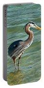 Honeymoon Island Heron Portable Battery Charger