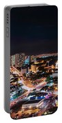 Honolulu Night Panorama Portable Battery Charger