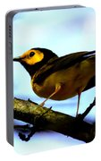 Hooded Warbler - Img 9290-002 Portable Battery Charger