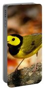 Hooded Warbler - Img 9352-003 Portable Battery Charger