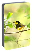 Hooded Warbler - Img_9274-007 Portable Battery Charger