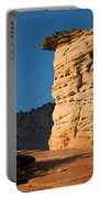 Hoodoos At Sunset Portable Battery Charger