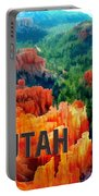 Hoodoos In Bryce Canyon Utah Portable Battery Charger