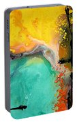 Hope - Colorful Abstract Art By Sharon Cummings Portable Battery Charger