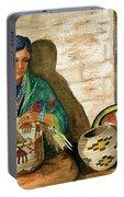 Hopi Basket Weaver Portable Battery Charger
