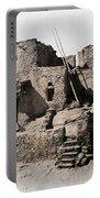Hopi Hilltop Indian Dwelling 1920 Portable Battery Charger