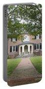 Hornsby House Inn Yorktown Portable Battery Charger by Teresa Mucha