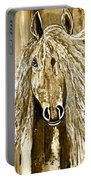 Horse Abstract Neutral Portable Battery Charger