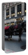 Horse And Carriage Nyc Portable Battery Charger