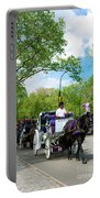 Horse And Carriages Central Park Portable Battery Charger