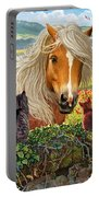 Horse And Cats Portable Battery Charger