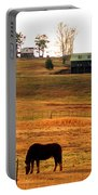 Horse And Farm By Jan Marvin Portable Battery Charger