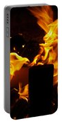 Horse In The Fire Portable Battery Charger