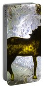 Horse On A Quartz Crystal Portable Battery Charger