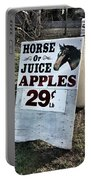 Horse Or Juice Apples Portable Battery Charger
