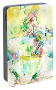 Horse Painting.19 Portable Battery Charger