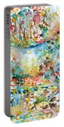 Horse Painting.20 Portable Battery Charger
