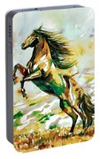 Horse Painting.25 Portable Battery Charger