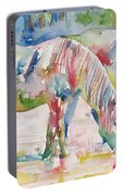 Horse Painting.27 Portable Battery Charger