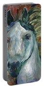 Horse Portrait 103 Portable Battery Charger