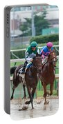 Horse Races At Churchill Downs Portable Battery Charger