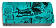 Turquoise Horse E Portable Battery Charger