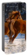 Horses In Motion Portable Battery Charger