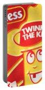 Hostess Twinkie The Kid Portable Battery Charger by Tony Rubino