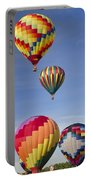 Hot Air Balloon Race Portable Battery Charger