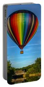 Hot Air Balloon Woodstock Vermont Portable Battery Charger