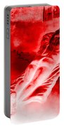 Hot-blooded Hottie On A Sexual Journey Portable Battery Charger
