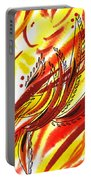 Hot Lines Twist Abstract Portable Battery Charger