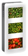 Hot Pepper Collage Portable Battery Charger