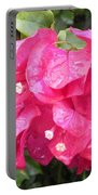 Hot Pink Bougainvillea Portable Battery Charger