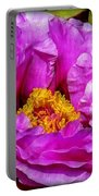 Hot-pink Flower Portable Battery Charger