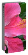 Hot Pink Hibiscus 2 Portable Battery Charger