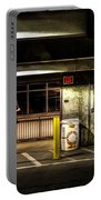 Hot Summer Night Out Portable Battery Charger by Bob Orsillo