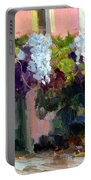 Hotel Baudy Wisteria Portable Battery Charger