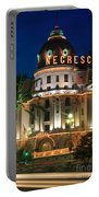 Hotel Negresco By Night Portable Battery Charger
