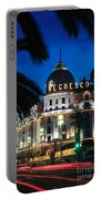 Hotel Negresco Portable Battery Charger by Inge Johnsson