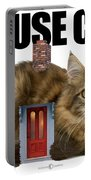 House Cat Portable Battery Charger