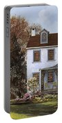 house Du Portail  Portable Battery Charger by Guido Borelli