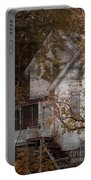 House In Fall Portable Battery Charger