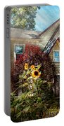 House - Westfield Nj - The Summer Retreat  Portable Battery Charger by Mike Savad