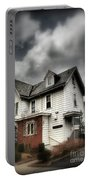 House With Brick Front - American Gothic Portable Battery Charger