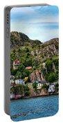Houses On Hillside Portable Battery Charger