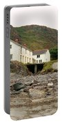 Houses At Kynance Cove Portable Battery Charger