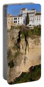 Houses On Rock In Ronda Portable Battery Charger
