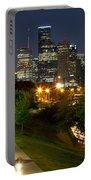 Houston At Night Portable Battery Charger