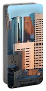 Houston Financial District Portable Battery Charger